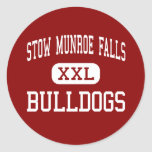 Stow Munroe Falls - Bulldogs - High - Stow Ohio Sticker