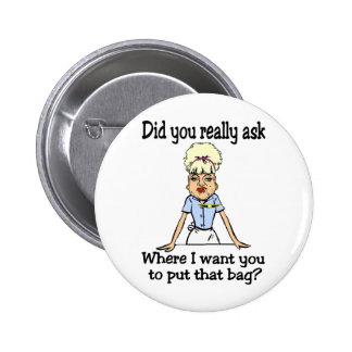 Stow the Bag Pin