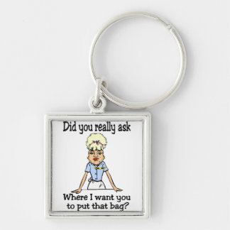 Stow the Bag Keychain