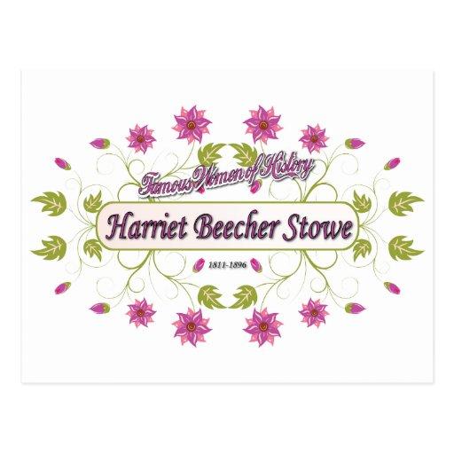 Stowe ~ Harriet Beecher Stowe / Famous USA Women Post Cards