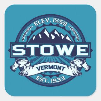 Stowe Ice Logo Square Sticker