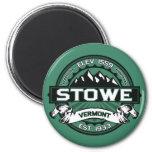 Stowe Magnet Vermont Green Fridge Magnet