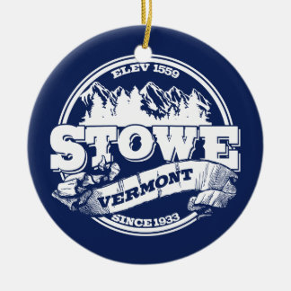 Stowe Old Circle Blue Ceramic Ornament