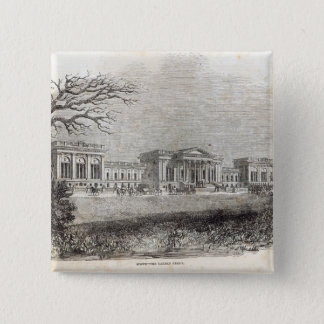 Stowe - the Garden Front Pinback Button