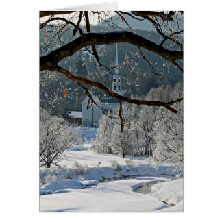 Stowe Vermont Card