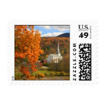 Stowe Vermont in Autumn Stamps