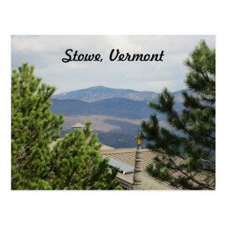 Stowe, Vermont Postcard