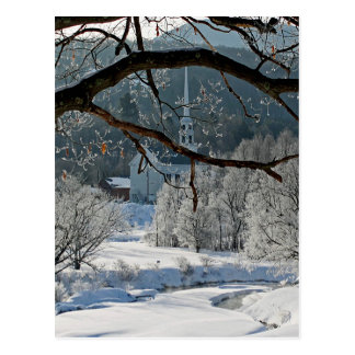 Stowe Vermont Postcard