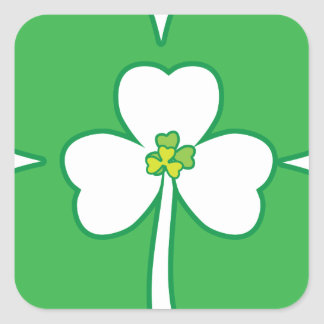 StPatrick sDay-10 png Square Stickers