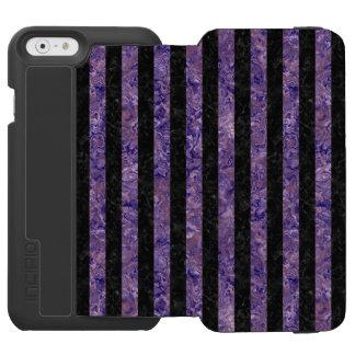 STR1 BK-PR MARBLE iPhone 6/6S WALLET CASE