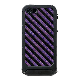 STR3 BK-PR MARBLE (R) WATERPROOF iPhone SE/5/5s CASE