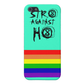 Str8 against h8  cover for iPhone SE/5/5s