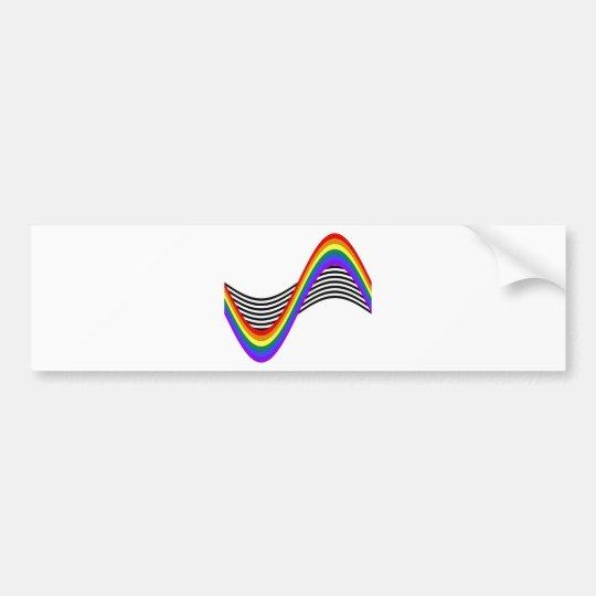 STR8 Allies Wave Bumper Sticker