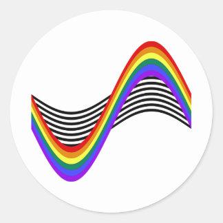 STR8 Allies Wave Stickers