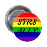 STR8 ALLY 2 INCH ROUND BUTTON