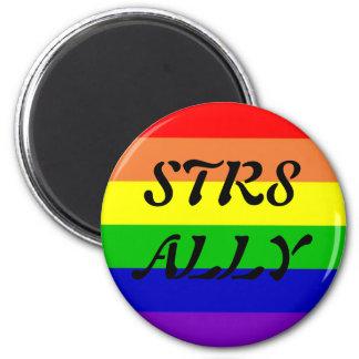 STR8 ALLY REFRIGERATOR MAGNETS