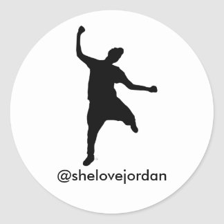 Str8 Drop Sticker (@shelovejordan)