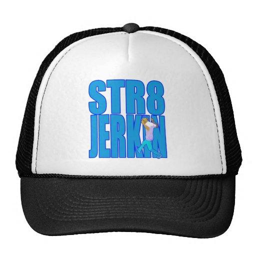 STR8 JERKIN jerk jerking dance hip-hop rap music Mesh Hats