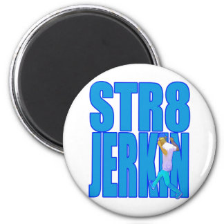 STR8 JERKIN jerk jerking dance hip-hop rap music Magnet