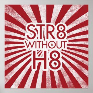 STR8 sin el poster enorme de H8 Potest