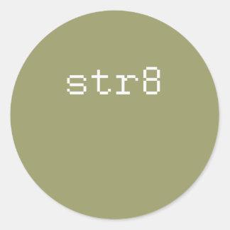 str8 sticker