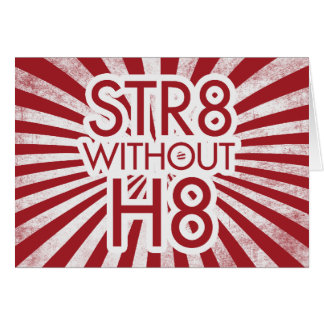 STR8 without H8 no prop 8 Card
