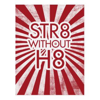 STR8 without H8 no prop 8 Postcard