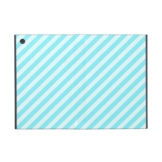 [STR-AQ-1] Aguamarina y bastón de caramelo blanco  iPad Mini Funda