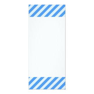 [STR-BLU-01] Blue candy cane striped Card