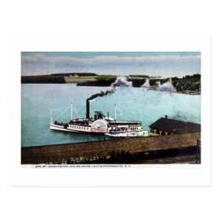 Str. Mt. Washington, Lake Winnipesaukee, N.H. Postcard