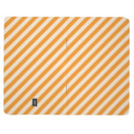 [STR-OR-1] Orange and white candy cane striped Journal