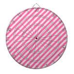 [STR-PINK-01] Bastón de caramelo rosado rayado Tabla Dardos