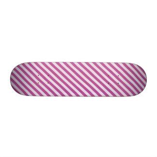 [STR-PU-1] Bastón de caramelo púrpura y blanco ray Monopatines