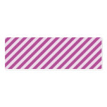 [STR-PU-1] Bastón de caramelo púrpura y blanco ray Plantilla De Tarjeta Personal