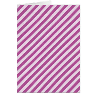 [STR-PU-1] Purple and white candy cane striped Card