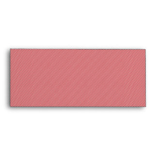 [STR-RD-1] Red and white candy cane striped Envelope