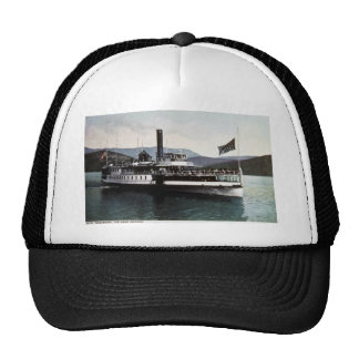 Str. Sagamore on Lake George, New York Trucker Hat