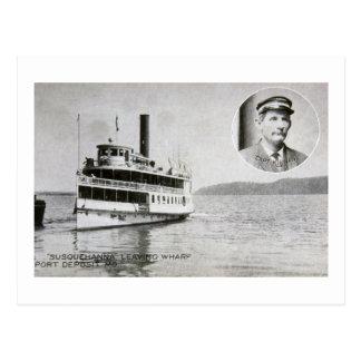 Str. Susquehanna, Port Deposit, Maryland Postcard
