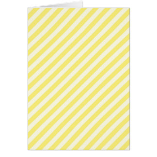 [STR-YE-01] Yellow candy cane striped Card
