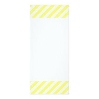 [STR-YE-01] Yellow candy cane striped Card