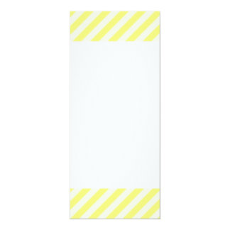 [STR-YE-1] Yellow and white candy cane striped Card