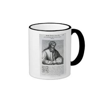 Strabo, illustration from Andre Thevet's Ringer Coffee Mug