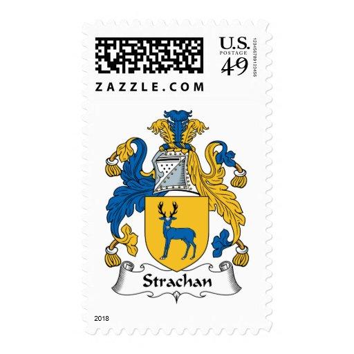 Strachan Family Crest Stamp