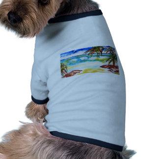 Straddie Views Dog T-shirt
