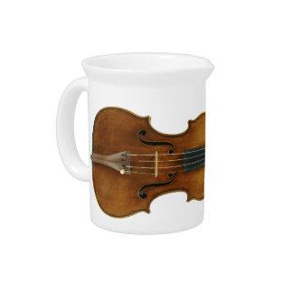 Stradivari Reproduced on Creamer Beverage Pitcher