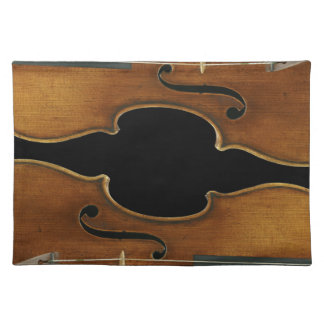 Stradivari Reproduced on Cloth Placemat