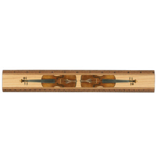Stradivari Violin Duo Maple Ruler