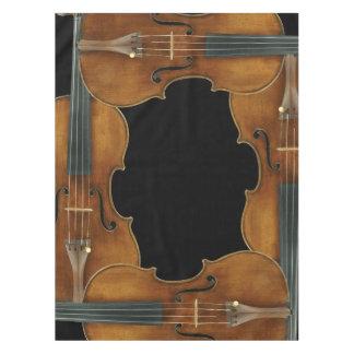 Stradivari Violin Quartet Tablecloth