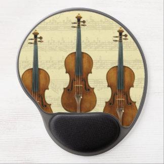 Stradivari Violins Bach Partita Music Manuscript Gel Mouse Pad