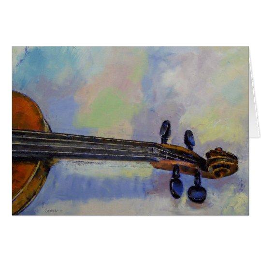 Stradivarius Card